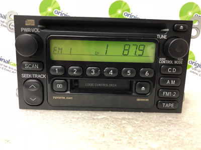 1990 - 2001 Toyota Camry Celica Radio Tape CD Player