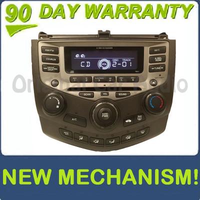 New Mechanism 2003 - 2007 Honda Accord Radio AUX and 6 CD Changer LX EX 7BC1 39175-SDA-A120-M2