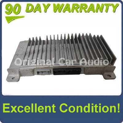 2010 - 2012 Ford Fusion Mercury Milan OEM Sony Audio Amplifier