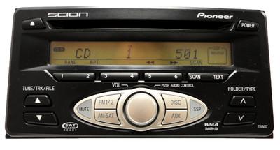 Scion XA XB Toyota Echo Highlander Radio CD MP3 08600-21800 2000-2006