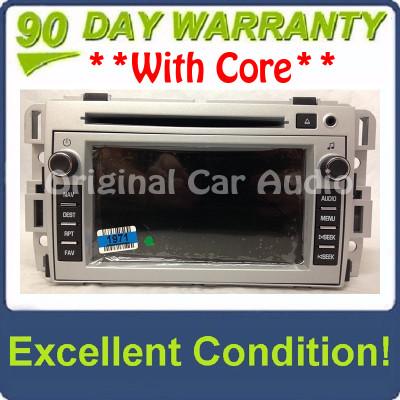 2007 - 2009 Chevrolet Equinox OEM Navigation AM FM Radio AUX CD Player Receiver U3U