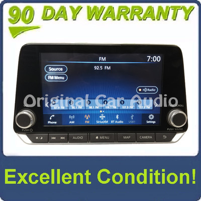 2019 - 2020 Nissan Altima OEM NON-BOSE Touch Screen Navigation AM FM XM Radio Receiver