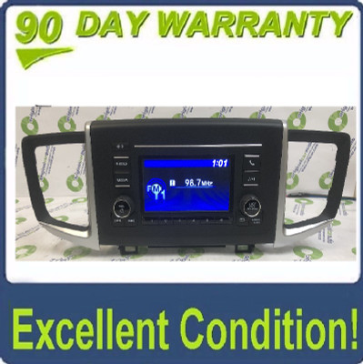2016 - 2019 Honda Ridgeline OEM AM FM Radio Display Screen Media Receiver