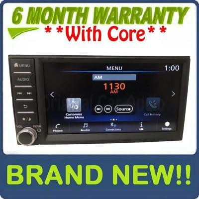 NEW 2018 - 2020 Nissan NV200 Sentra Versa OEM Touch Screen AM FM Bluetooth Multi Media Radio Receiver