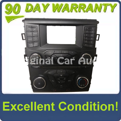 """2017 - 2020 Ford Fusion OEM 4"""" Touch Screen Radio Control Climate Control w/Heated Seat Options Bezel ONLY"""