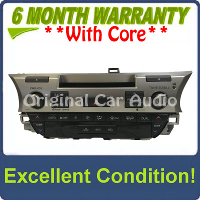 2015 LEXUS ES350 ES300H OEM AM FM CD HD Radio w/ Climate Controls 100465