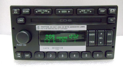 NEW Ford Crown Victoria 6 Disc CD Player SATELLITE Radio Escape 2003 - 2010