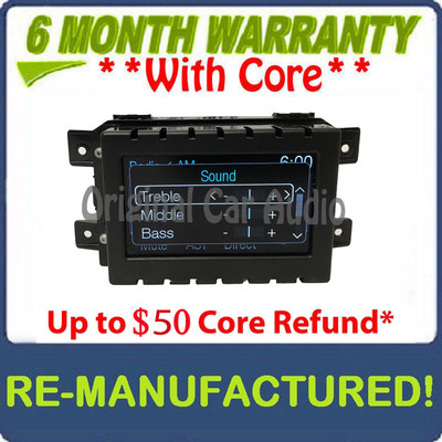"""REMANUFACTURED 2014 Ford F150 F-150 OEM 4""""  Sync MDF Radio Info Display Screen Receiver"""