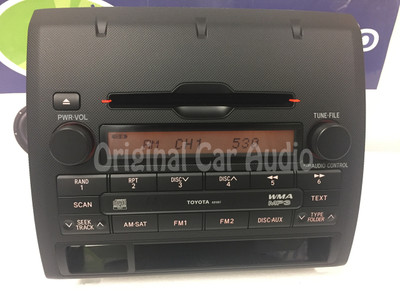 Toyota Tacoma Radio Receiver MP3 AM FM CD Player OEM