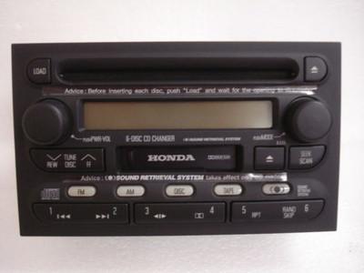 01 02 Honda Passport 6 CD Changer Radio Isuzu Rodeo OEM