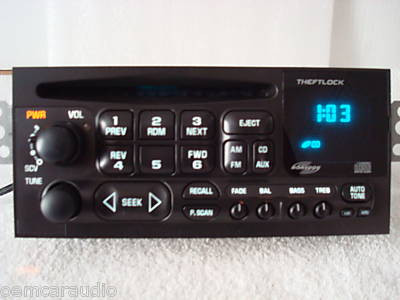 GMC Chevy Monsoon Radio CD Player Receiver AM FM Stereo