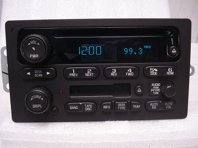 GMC Chevy Radio Tape Cassette Deck Stereo CD Player AM FM