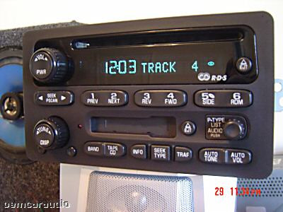 GMC Chevy Impala Cavalier Malibu RDS Radio Tape CD Player