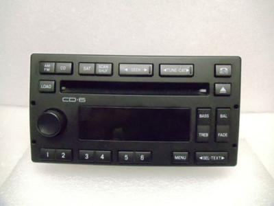 03 04 05 FORD Crown Victoria MERCURY Grand Marquis 6 CD Changer Player Radio OEM