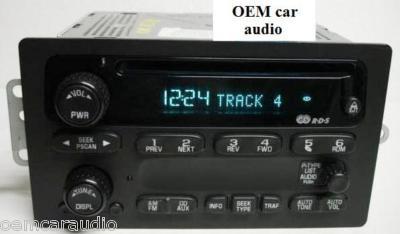 CHEVY Radio Receiver AM FM Factory CD Player OEM