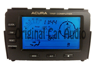 2001 2002 Acura MDX Trip Computer Display Screen 78200-S3V-A030-M1, 78200-S3V-A030, 78200S3VA030M1, 78200S3VA030