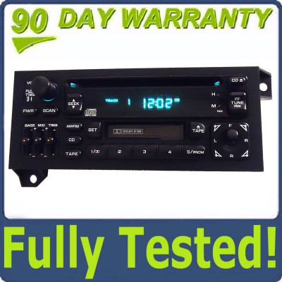 Used 96 97 98 99 2000 01 Jeep Dodge Chrysler Radio Cassette and CD Player Ch102U