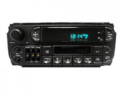 1998 1999 2000 2001 2002 Chrysler Dodge Jeep Radio Cassette