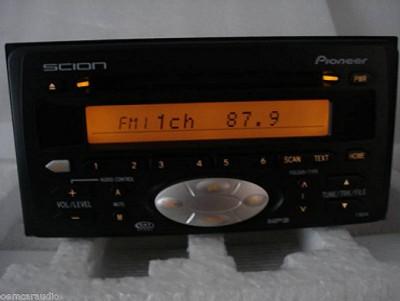 2004 2005 2006 Scion tC xA xB Radio MP3 CD Player T1804