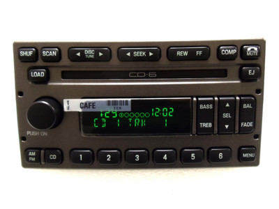 FORD Radio Stereo 6 Disc Changer CD Player Explorer Sport Trac YL2F-18C815-GD 1998 - 2010
