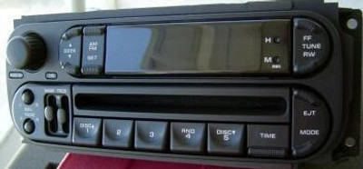 Chrysler Dodge Jeep Radio and CD Player 2002 2003 2004 2005