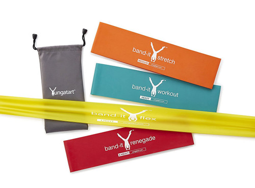 Yunga Tart Exercise Loop Resistance Bands -Set of 4