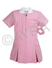 School Wear Uniform Gingham Dress (Ayra) Pink