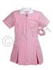 School Wear Uniform Gingham Dress (Ayra) Pink