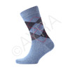 12 PAIRS OF MENS ARGYLE DIAMOND SOCKS WTH LYCRA