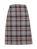 Kelso Tartan Stitched Down Knife Pleat School Skirt (Banner) (1EK )