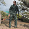 Result Men's Heavyweight Waterproof Jacket & Trouser Set Raincoat (R95A)
