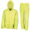 Result Men's Heavyweight Waterproof Jacket & Trouser Set Raincoat (R95A)