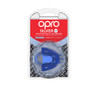 Self-Fit GEN4 SILVER Junior & Adult Mouthguard Gum Shield (Opro)