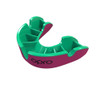 Self-Fit GEN4 SILVER Junior & Adult Mouthguard Gum Shield (Opro) Pink and Green