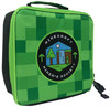 Minecraft Childrens Kids Official Miners Society Green Lunch Box