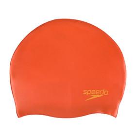 Plain Moulded Silicone Cap Orange