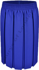 Box Pleat School Uniform Skirt (Ayra) Royal Blue