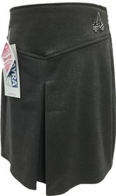 School Wear Ayra Cherry Skirt Grey
