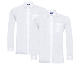Boys Twin Pack Long Sleeve Shirt (Ayra)