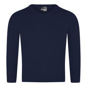 Knitted V-Neck Jumper