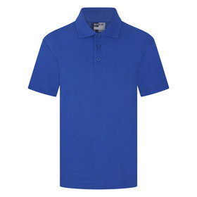 School Polo Shirt 15 Different Colours (Zeco) Royal Blue