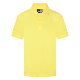 School Polo Shirt 15 Different Colours (Zeco) Yellow