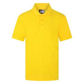 School Polo Shirt 15 Different Colours (Zeco) Gold