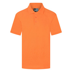 School Polo Shirt 15 Different Colours (Zeco) Orange
