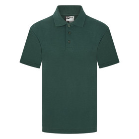School Polo Shirt 15 Different Colours (Zeco) Bottle Green