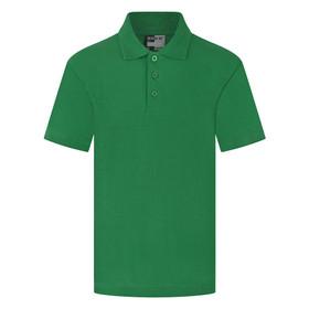 School Polo Shirt 15 Different Colours (Zeco) Bottle Green