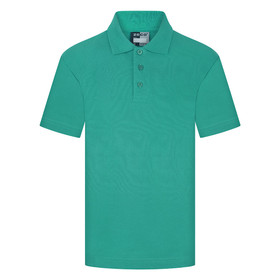 School Polo Shirt 15 Different Colours (Zeco) Green