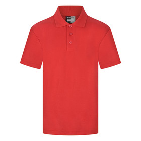 School Polo Shirt 15 Different Colours (Zeco) Red