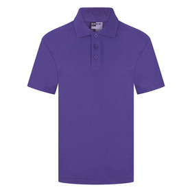 School Polo Shirt 15 Different Colours (Zeco) Purple