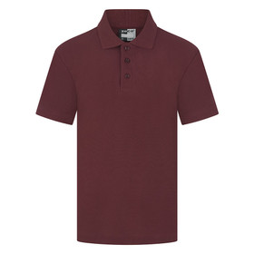 School Polo Shirt 15 Different Colours (Zeco) Maroon